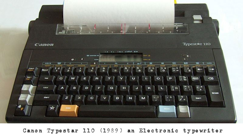 The history of the invention of the typewriter - Online typing