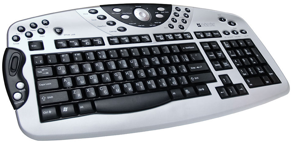 Different types of computer keyboards available in the market
